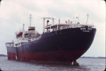 INTRA TRUTH laid up in the River Blackwater 16 October 1982.